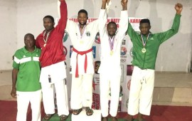 Karate: Ogunsanwo, Omu shine at National Championships