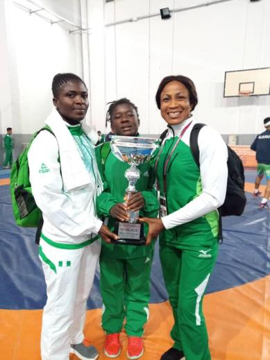2019 AWC: Team Nigeria dominate Women's Wrestling