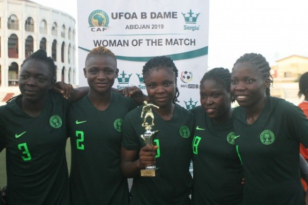 Nigeria whitewash Niger 15-0 in WAFU Women's