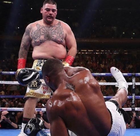 Tyson Fury encourages Anthony Joshua after shock defeat