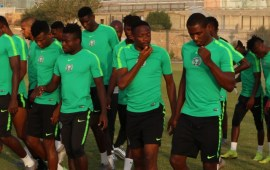 AFCON2019: Musa, Ighalo struggling for Algeria clash