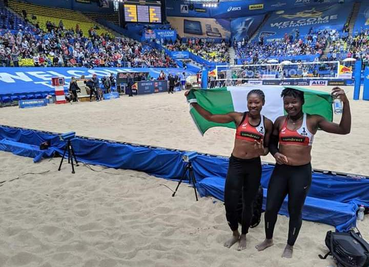 Nimrod commends Team at World Beach V/Ball C'Ship