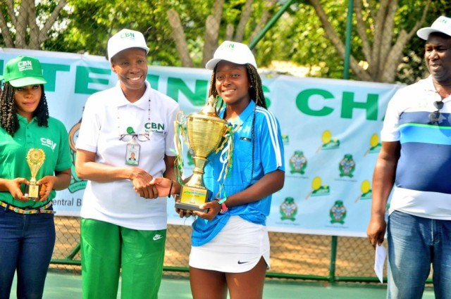 Oyinlomo Quadre claims maiden CBN Open title
