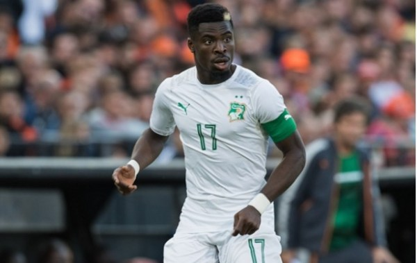 AFCON2019: Injured Serge Aurier returns to Egypt