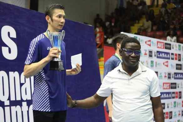 Tien Nguyen the new king of Lagos Badminton Classics