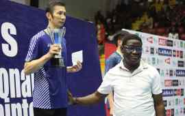 Tien Nguyen the new king of Lagos Badminton Classics