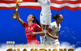 FIFAWWC: USA are World Champions once again