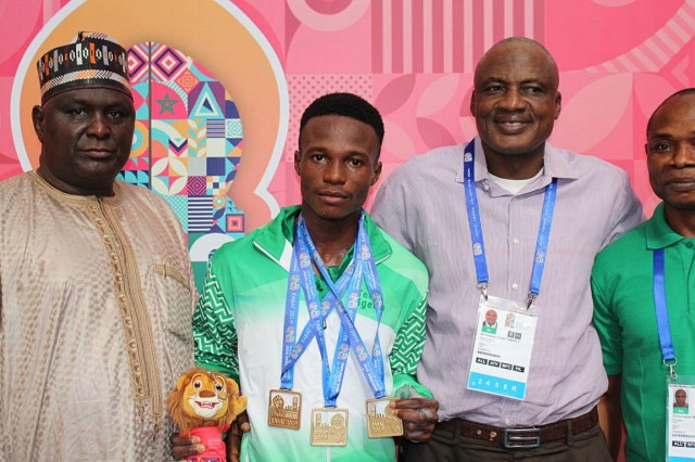 African Games: Nigeria weightlifters deliver 6 gold medals
