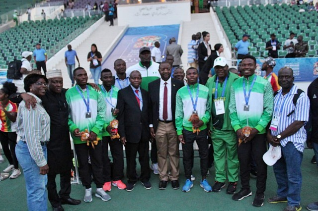 African Games: Team Nigeria finish second with 127 medals