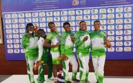 12th African Games: Team Nigeria wrestlers win 12 medals