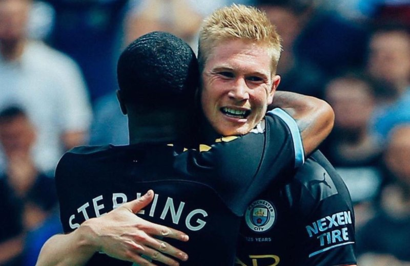 Sterling, 5-star Man City the biggest winners as new PL season starts