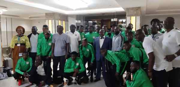 CHAN 2020: Eagles land in Lome for Togolese date