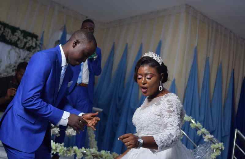 CFW Fisayo Dairo marries Chiamaka Chukwu