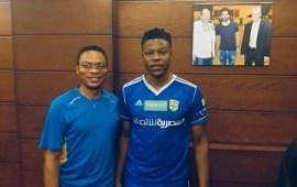 Arab Contractors new signing Kufre Ebong fears no foe