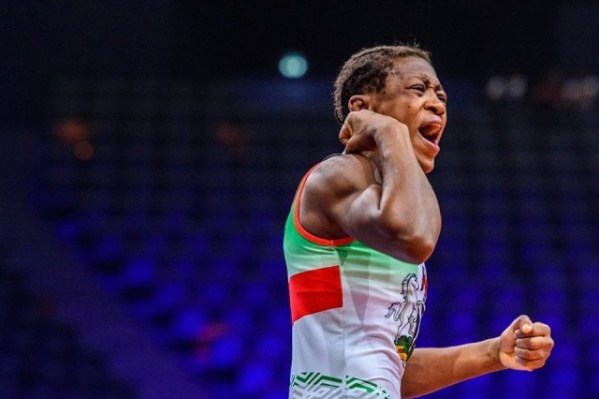 Adekuoroye wins bronze medal, secures Tokyo 2020 slot