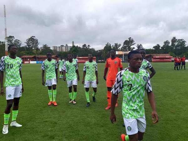U17WC: Eaglets wrap up preparations with loss to Japan