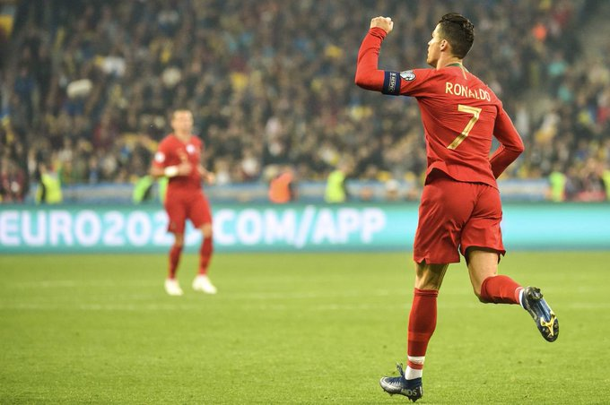 Euro 2020: Ronaldo scores 700th career goal as Ukraine qualify