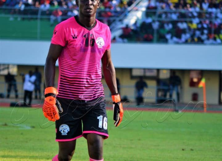 ASCK Nigerian keeper John Noble delighted to face Rangers