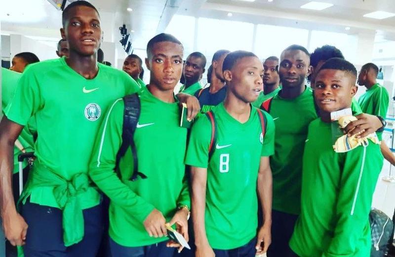 U17WC: Nigeria land in Brazil for global fiesta