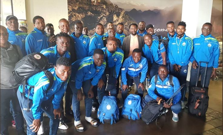 TotalCAFCC: Enyimba land in Nelspruit for TS Galaxy date