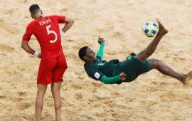 Beach Soccer World Cup: Nigeria lose opener to Portugal