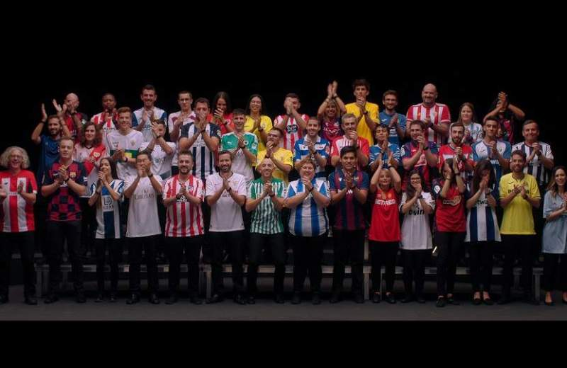 LaLiga, 42 fans perform exciting sound experiment