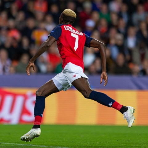 Osimhen ends drought, Olayinka impresses at Camp Nou