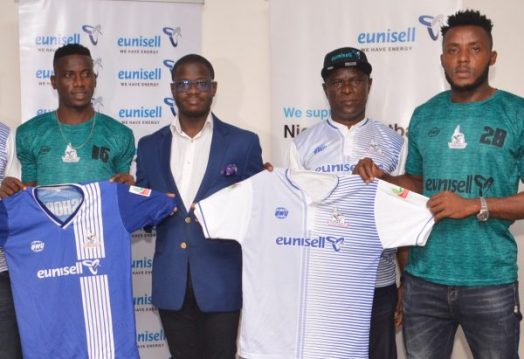 NPFL: Eunisell receives plaudits for Rivers United sponsorship