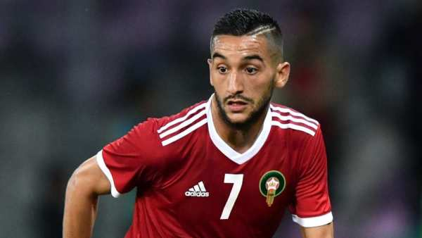 Ziyech second best in Europe after Messi, reports CIES
