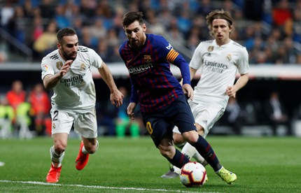 The international connections of El Clásico