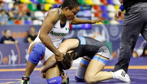 Wrestling: Blessing Oborududu targets 10th African title