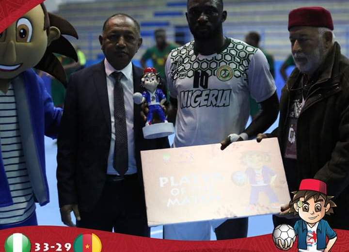 Nigeria finished eleventh at Handball Nations Cup