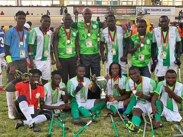 Amputee Football: Nigeria players appeal for recognition