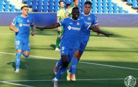 LaLiga: Etebo scores, injured in Getafe stalemate