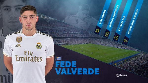 Rising star Fede Valverde already soaring in LaLiga