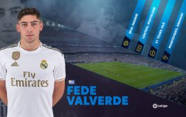 Rising star Fede Valverde already soaring in LaLiga
