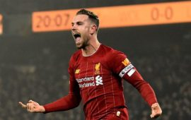 Title is Ultimate Redemption Prize for Jordan Henderson