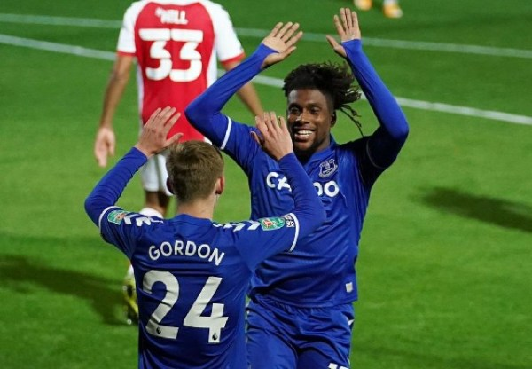Iwobi inspires Everton to EFL Cup 4th round