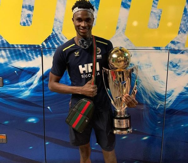 Volleyball: Arinze Nwachukwu wins first professional trophy