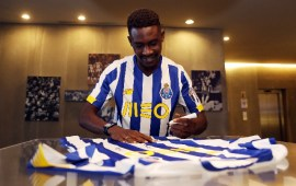 Transfer: Zaidu Sanusi ready to give everything at Porto