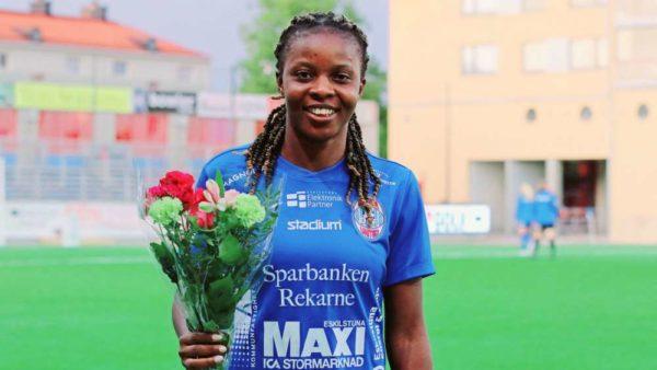 Ngozi Okobi inspires crucial Eskilstuna comeback win