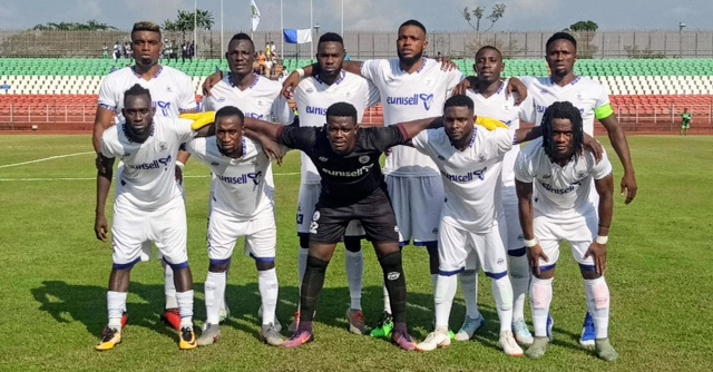 Iyaye charges Rivers United to eliminate Futuro Kings