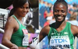 Okagbare with 2nd fastest time in the world, Amusan wins in Metz