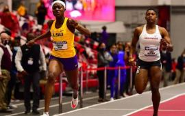 Favour Ofili breaks African indoor record to qualify for Tokyo