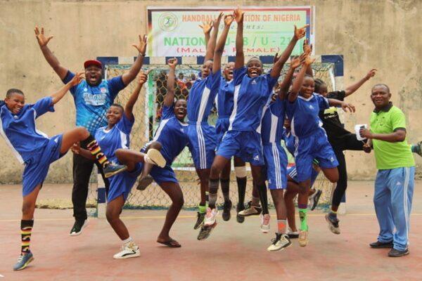Gboko Volunteers make history at 2021 National Handball Championship