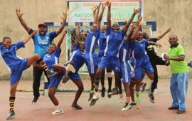 Gboko Volunteers make history at 2021 National Handball Championship
