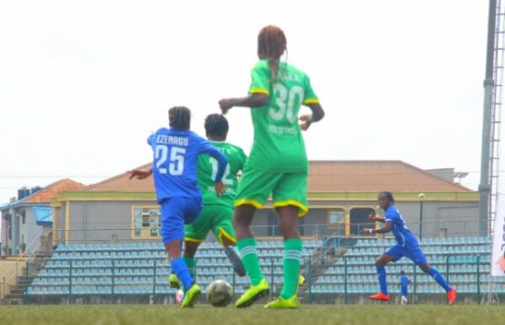 NWFL: Rivers Angels and Bayelsa Queens drop points