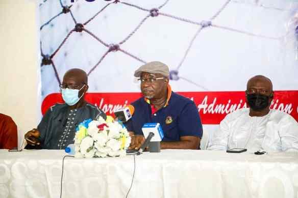 Akinwunmi tasks Team Lagos players on career, education