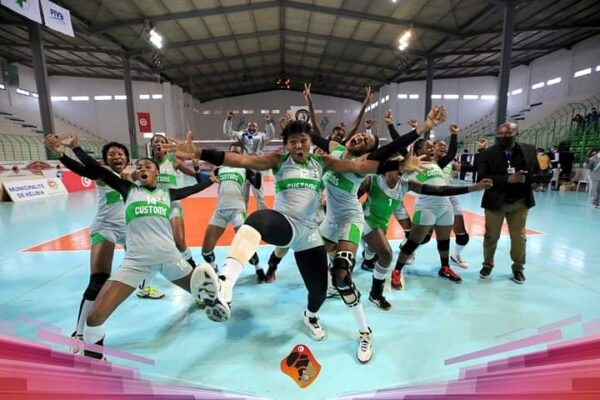 Volleyball: Customs secures historic semifinal slot