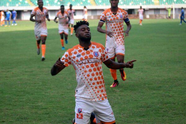 NPFL: Atshimene brace returns Akwa United to the top
